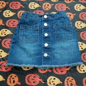 Toddler Jean Skirt